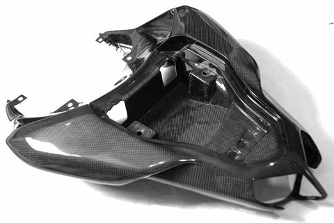 Carbon Fiber Ducati Rear Tail Seat Section for models 848 1098 1198 Plain / Gloss - KIY Carbon, MDI CarbonFiber - 1