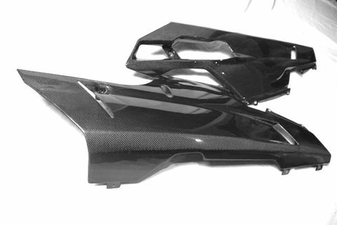 Ducati Carbon Fiber Lower Side Fairing for models 848 1098 1198  - MDI CarbonFiber - 1
