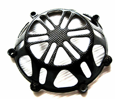 Ducati Carbon Fiber Clutch Cover for All Models  - MDI CarbonFiber - 1
