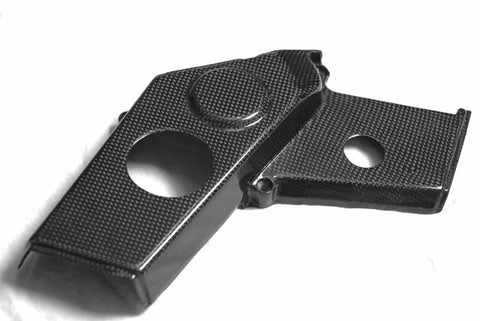 Ducati Carbon Fiber Lower Belt Covers for models 748 916 996 998  - MDI CarbonFiber - 1