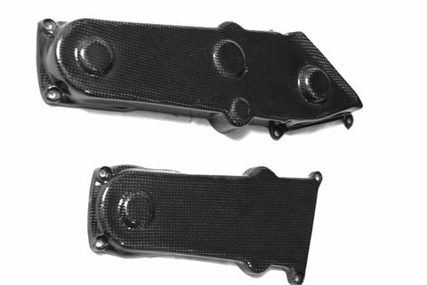 Ducati Carbon Fiber Monster 900 Front Belt Covers Years: 1997 to 2005  - MDI CarbonFiber - 1