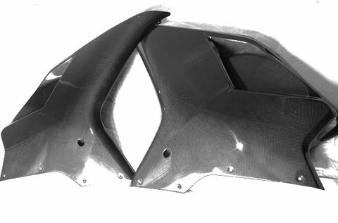Ducati Carbon Fiber Mid Side Fairing for models 848 1098 1198  - MDI CarbonFiber - 1