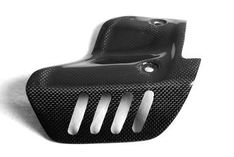 Ducati Carbon Fiber Exhaust Heat Guard ONLY for Termignoli 848 1098 1198 Models  - MDI CarbonFiber - 1