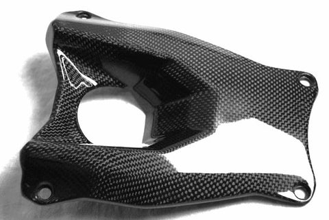Ducati Carbon Fiber Streetfighter Ignition Switch Frame  - MDI CarbonFiber - 1