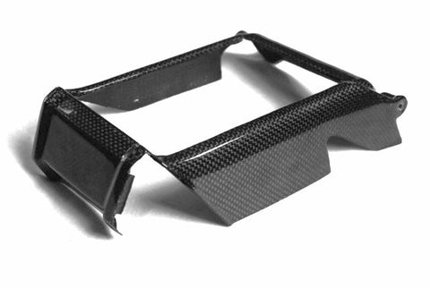 Ducati Carbon Fiber Monster Radiator Cover for models 696 1100 1100S Years: 2008 2009  - MDI CarbonFiber - 1