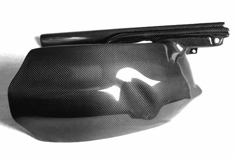 Ducati Carbon Fiber Rear Fender  Mudguard  Hugger ONLY for models 748 916 996  - MDI CarbonFiber - 1