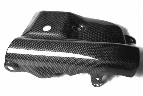Carbon Fiber Ducati Multistrada 1200 Center Belly Pan 2010-2013 Plain / Gloss - KIY Carbon, MDI CarbonFiber - 1