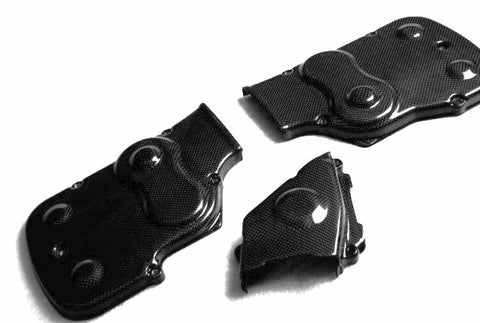 Ducati Carbon Fiber Belt Covers for models 749 999  - MDI CarbonFiber - 1
