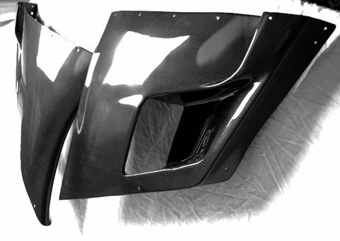 Ducati Carbon Fiber Mid Side Fairing Only for models 996 748 916 998  - MDI CarbonFiber - 1