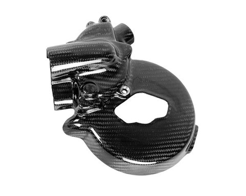 Ducati Carbon Fiber 848 1098 1198 Streetfighter 1098 and 848 and the Multistrada Water Pump Cover  - MDI CarbonFiber