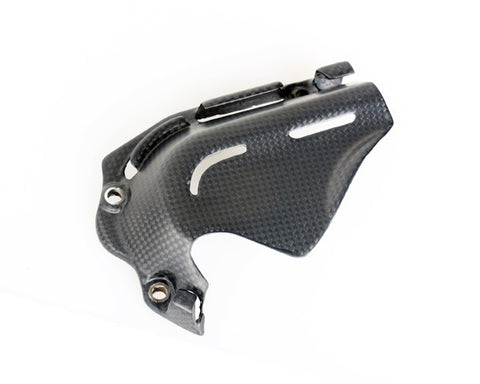 Ducati Carbon Fiber New Hypermotard Sprocket cover Plain / Matte - MDI CarbonFiber