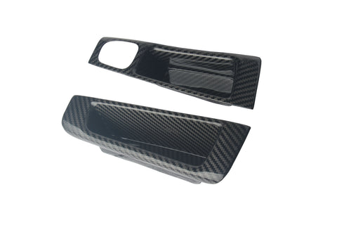 Fiat 500 Abarth Carbon Fiber Drivers Left Door Handle