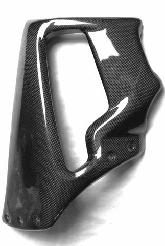 Carbon Fiber Harley Davidson V Rod Muscle Mid Side Panels