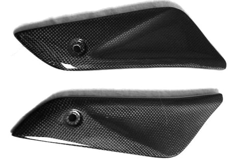 Honda Carbon Fiber CBR 1000RR Fireblade Front Under Tank Panels for years: 2004  - MDI CarbonFiber