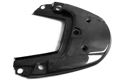 Carbon Fiber Honda CBF600 Seat Section Cover Fits 2008 2009 Plain / Gloss - KIY Carbon, MDI CarbonFiber - 1