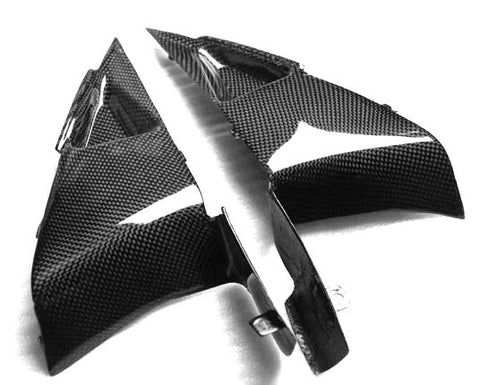Honda Carbon Fiber CBR 600RR Side Panels Fits 2007 2008  - MDI CarbonFiber