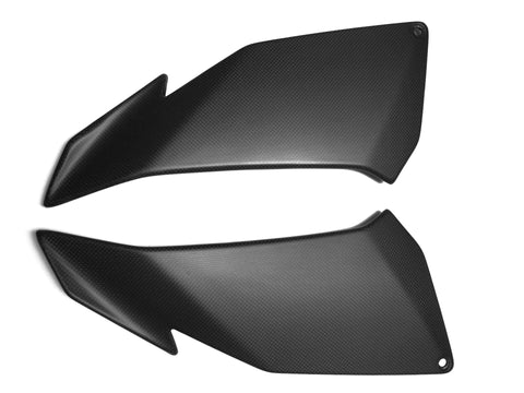 Aprilia Carbon Fiber Tuono V4 Side Fairing Panels Covers 2011-2012-2013-2014 Plain / Matte - MDI CarbonFiber - 1