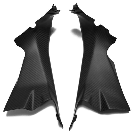 Ducati Carbon Fiber 1199 Panigale Side Panels Inserts Twill / Matte - MDI CarbonFiber - 1