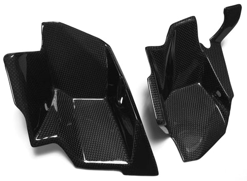 KTM Carbon Fiber 990 Super Duke Side Inserts Fits 2007 2011  - MDI CarbonFiber - 1