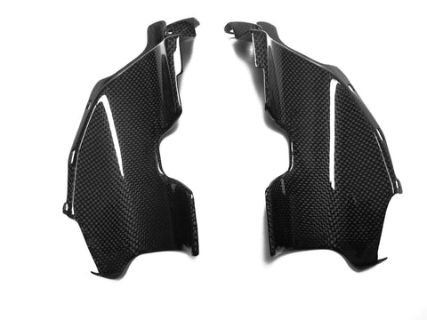 Suzuki Carbon Fiber GS Side Fairing Scoops R600 2006 2009  - MDI CarbonFiber - 1