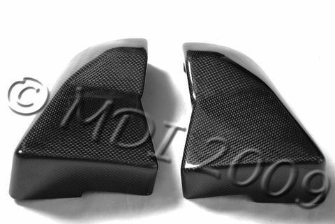 Kawasaki Carbon Fiber ZX12R Air Box Side Covers Fits 2001 2005  - MDI CarbonFiber - 1