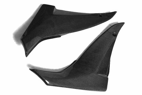 Kawasaki Carbon Fiber ZX10R Tank Side Panels Covers Fits 2008 2010  - MDI CarbonFiber - 1