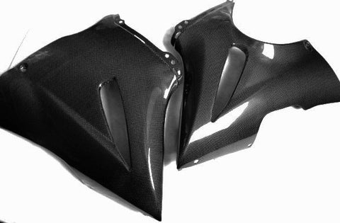 Kawasaki Carbon Fiber ER6F Belly Pan Fits 2006 2008  - MDI CarbonFiber - 1