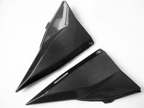 Kawasaki Carbon Fiber Z 750 Z1000 03 06 Side Tank Cover Large  - MDI CarbonFiber