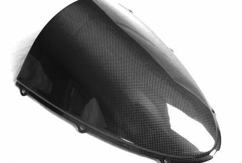 Kawasaki Carbon Fiber ZX6R 636 Windshield Fits 2005 2006  - MDI CarbonFiber - 1