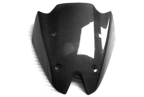 Kawasaki Carbon Fiber Z1000 Windshield Fits 2010 2011 2012 2013  - MDI CarbonFiber - 1