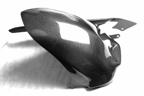 Kawasaki Carbon Fiber ZX14 2012 Rear Hugger with Chain Guard  - MDI CarbonFiber - 1