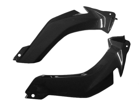 Kawasaki Carbon Fiber ZX10R 2011 2015 Air Intake Covers  - MDI CarbonFiber - 1
