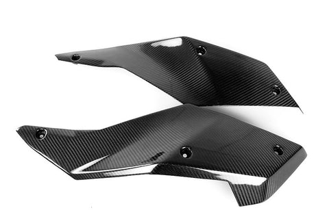 KTM Carbon Fiber 990 Supermoto R 2008 2012 Side Tank Covers  - MDI CarbonFiber