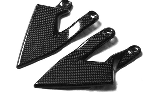 KTM Carbon Fiber Superduke 990 05 10 Heel Guards  - MDI CarbonFiber - 1