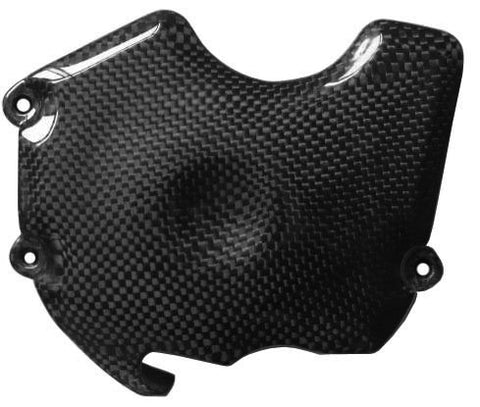 KTM Carbon Fiber Superduke R 990 2005 2012 Side Chain Cover  - MDI CarbonFiber