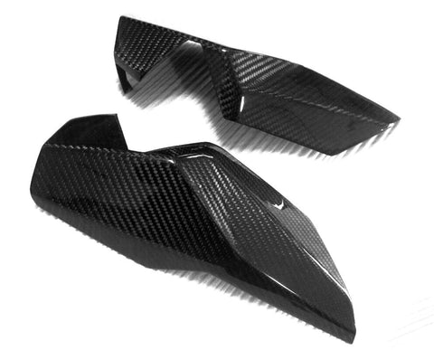 KTM Carbon Fiber 990 Supermoto 2008 2010;990 Supermoto R 2008 2012 Headlight Covers  - MDI CarbonFiber
