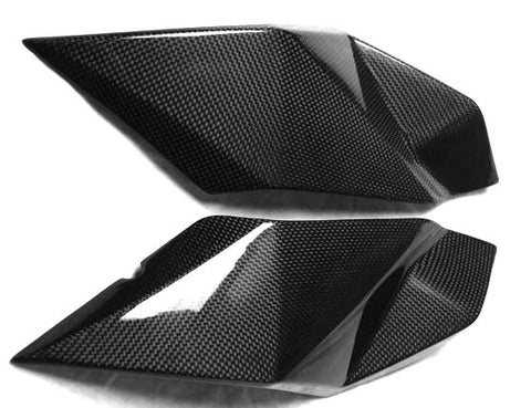 KTM Carbon Fiber 990 Super Duke Upper Headlight Fairing Fits 2007 2011  - MDI CarbonFiber - 1
