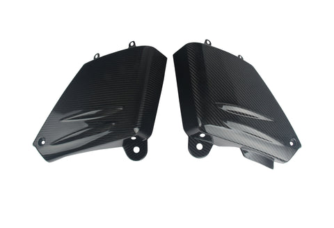 KTM Carbon Fiber Adventure 2006 2011 Lower Side Tank Covers
