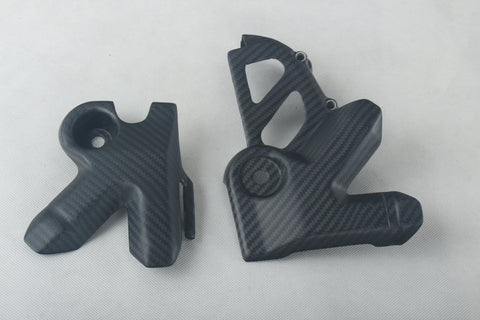 KTM Carbon Fiber Adventure 950 990 2003 2011 Frame Covers