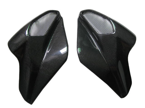 MV Agusta Carbon Fiber Brutale 2004 2009 Air Intake Covers  - MDI CarbonFiber