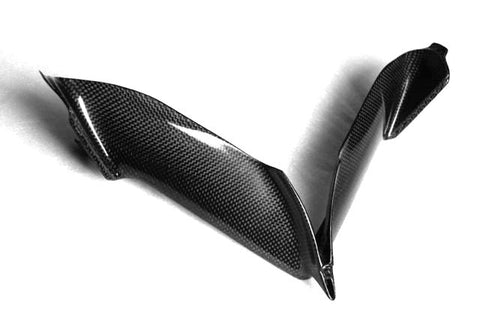 MV Agusta Carbon Fiber F4 Front Cover Air Tubes Fits 2010 2011  - MDI CarbonFiber - 1