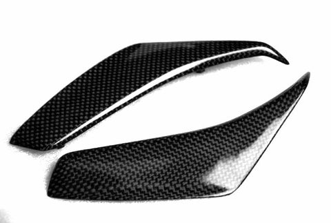 MV Agusta Carbon Fiber F4 Mirror Air Scoops Fits 2010 2011  - MDI CarbonFiber - 1