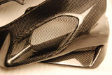 MV Agusta Carbon Fiber F4 Airtube Top Covers Fits 2010 2011  - MDI CarbonFiber - 4