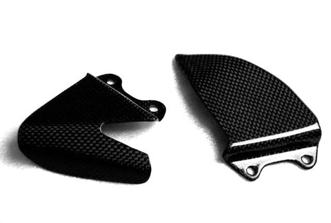MV Agusta Carbon Fiber F4 Heel Plates Guards Fits 2010 2011  - MDI CarbonFiber - 1