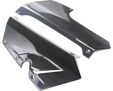 MV Agusta Carbon Fiber F3 800 675 2013 Belly pans heat foil inside  - MDI CarbonFiber