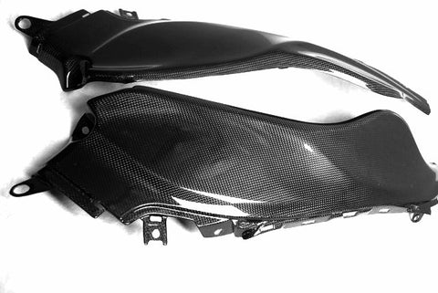 Suzuki Carbon Fiber Hayabusa GSX 1300R Long Dash Panel Set 2008 2013  - MDI CarbonFiber - 1