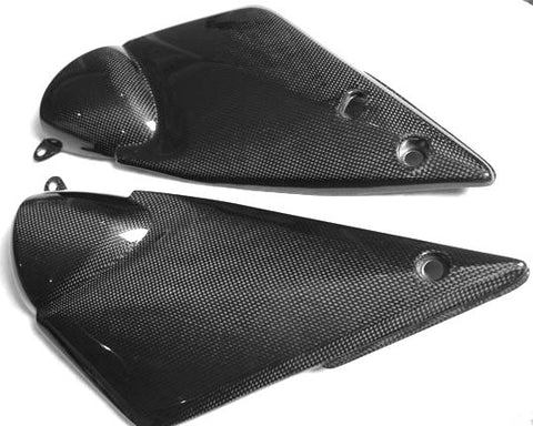 Suzuki Carbon Fiber Side Tank Cover Large GSF 600 2000 - 2003 GSF 1200 2001 - 2005  - MDI CarbonFiber - 1