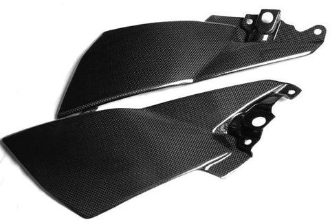 Suzuki Carbon Fiber B King Fuel Tank Side Fairing Panels 2007 2009 2010 2011 2012  - MDI CarbonFiber - 1