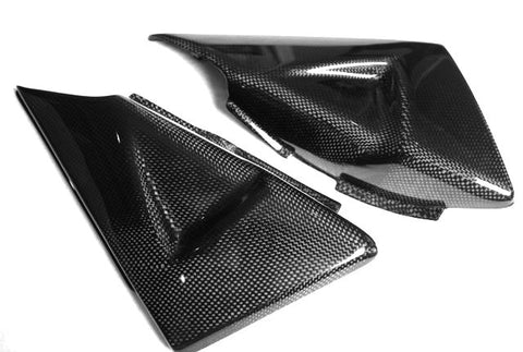 Suzuki Carbon Fiber B King Side Tank Covers 2007 2012  - MDI CarbonFiber - 1