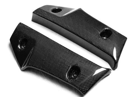 Suzuki Carbon Fiber GS R600 Center Radiator Cover for Years 2006 2007 2008 2009  - MDI CarbonFiber - 1
